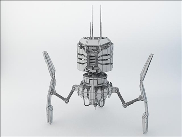 robot drt200 3d model 3ds max fbx obj 108568