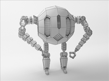 robot etr 220 3d model 3ds max fbx obj 103745