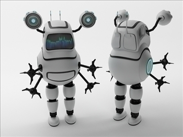 robot fd100 model 3d 3ds max obj 103288