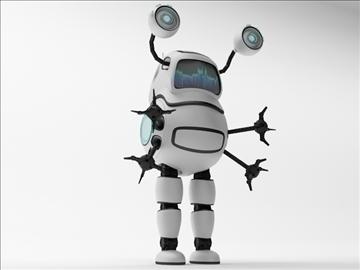 robot fd100 3d model 3ds max obj 103289
