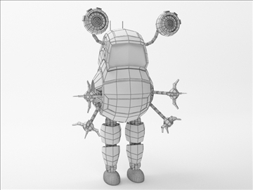 robot fd100 model 3d 3ds max obj 103291