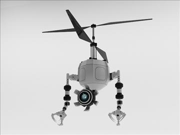 robot fd210 3d model 3ds max obj 104649