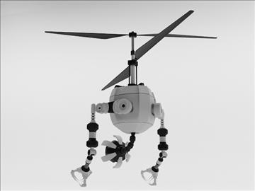robot fd210 3d model 3ds max obj 104651