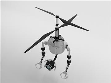 robot fd210 3d model 3ds max obj 104652