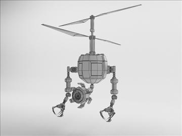 robot fd210 3d model 3ds max obj 104653