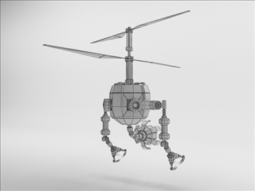 robot fd210 3d model 3ds max obj 104654