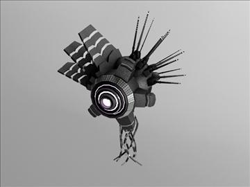robot fd8 100 3d model 3ds max obj 103440