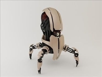 model robot fgt 1500 3d 3ds max fbx obj 106467