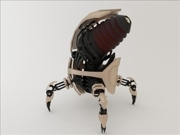robot fgt 1500 3d model 3ds max fbx obj 106469