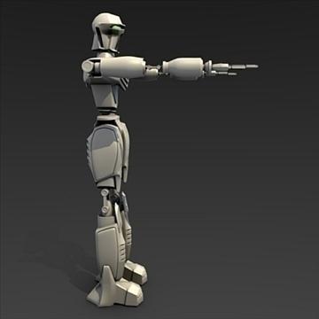 robot o ffilm 3d model fbx blend lwo obj 104804
