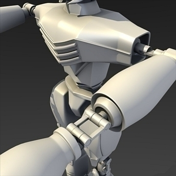 robot o ffilm 3d model fbx blend lwo obj 104805