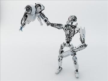 robot fspb 100 3d model 3ds max fbx obj 108543