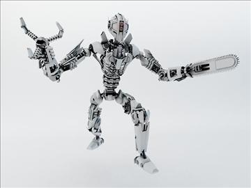 robot fspb 100 3d model 3ds max fbx obj 108544