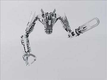robot fspb 100 3d model 3ds max fbx obj 108547