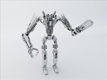 robot fspb 100 3d model 3ds max fbx obj 108548