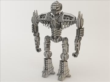 robot ghk200 model 3d 3ds max fbx c4d obj 106011