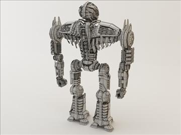 robot ghk200 model 3d 3ds max fbx c4d obj 106012
