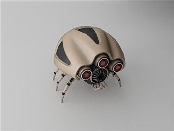 robot klj120 3d model 3ds max fbx obj 107759