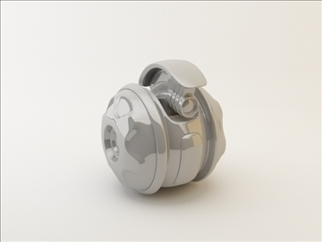 robot kp model 120 3d 3ds max fbx c4d obj 106129