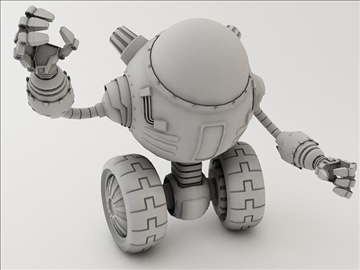 robot lp 1230 model 3d 3ds max fbx obj 106852