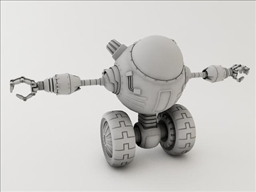 robot lp 1230 model 3d 3ds max fbx obj 106853