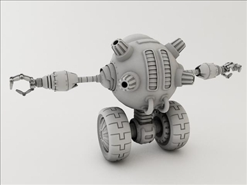 robot lp 1230 model 3d 3ds max fbx obj 106854