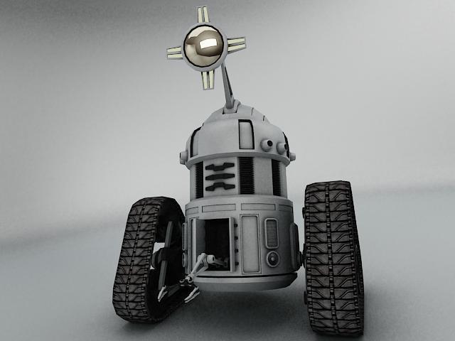 robot mjk645 3d model 3ds max fbx obj 114202