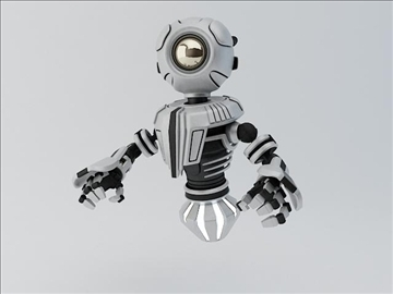 robot mnr 120 3d model 3ds max fbx obj 107359