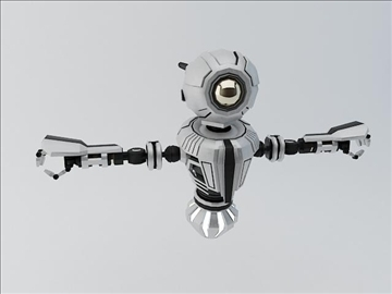 robot mnr 120 3d model 3ds max fbx obj 107361