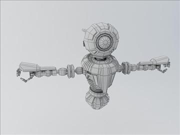 robot mnr 120 3d model 3ds max fbx obj 107362