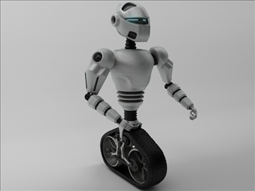 model robot mot 300 3d 3ds max fbx obj 103746