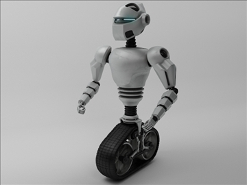 model robot mot 300 3d 3ds max fbx obj 103750
