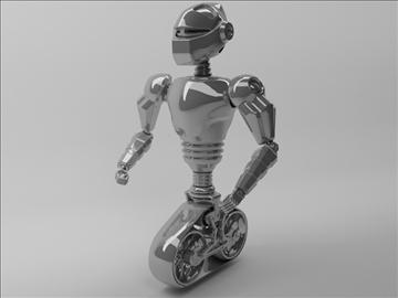 robot mot 300 3d model 3ds max fbx obj 103751