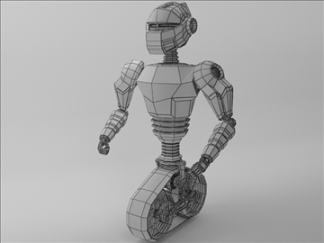 model robot mot 300 3d 3ds max fbx obj 103752