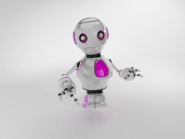 robot ngt230 3d model 3ds max fbx obj 113759