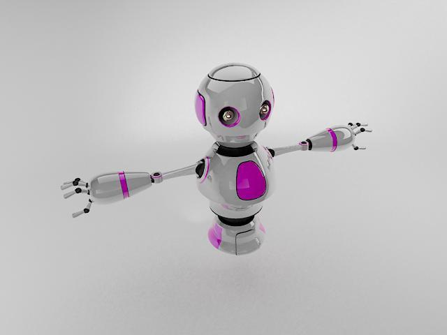 robot ngt230 3d model 3ds max fbx obj 113760