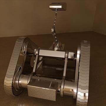 robot ar draciau model 3d 3ds 110988