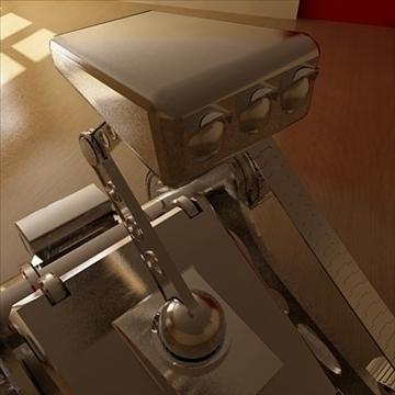 robot ar draciau model 3d 3ds 110989