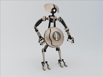 robot ptp202 model 3d 3ds max fbx obj 107528