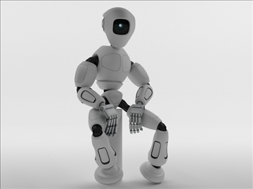 robot rm100 model 3d 3ds max obj 104621