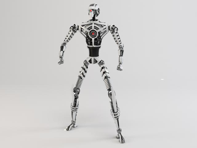 robot sin230 3d model 3ds max fbx obj 118631