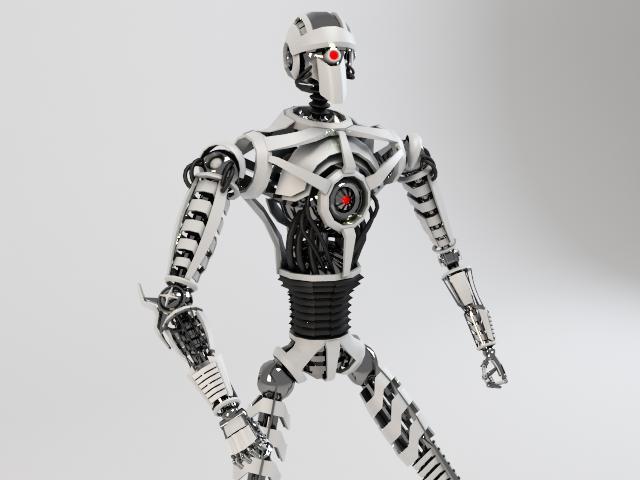 robot sin230 model 3d 3ds max fbx obj 118632