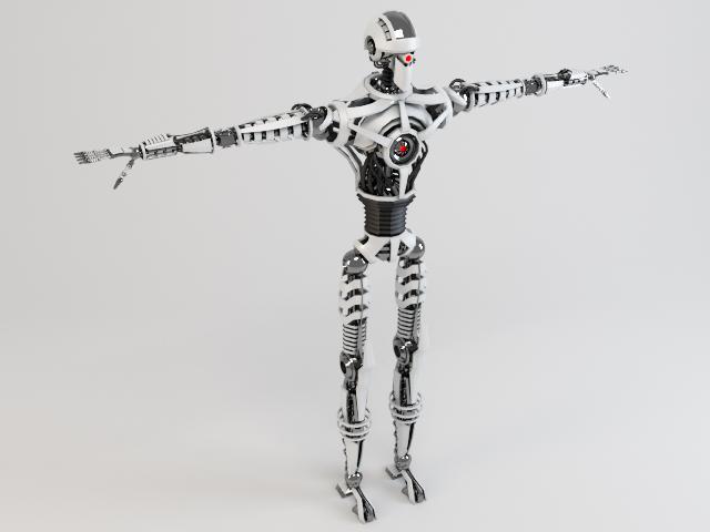 robot sin230 model 3d 3ds max fbx obj 118633