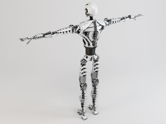 robot sin230 model 3d 3ds max fbx obj 118634