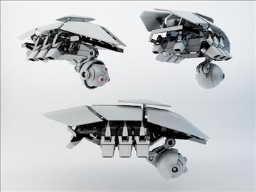 robots sxz200 3d modelis 3ds max fbx obj 108613