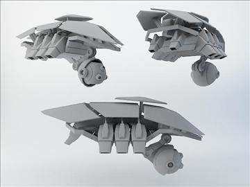 robot sxz200 model 3d 3ds max fbx obj 108614