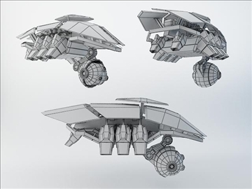 robot sxz200 model 3d 3ds max fbx obj 108615