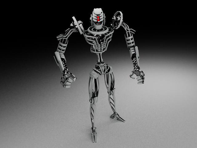 robot tkf100 3d model 116346
