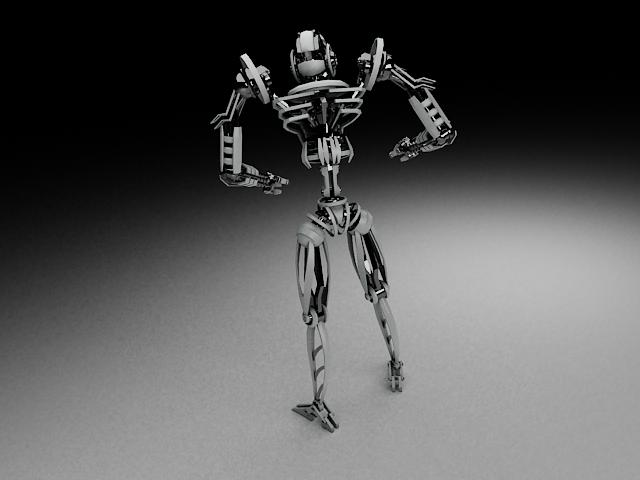 model robot tkf100 3d 116347