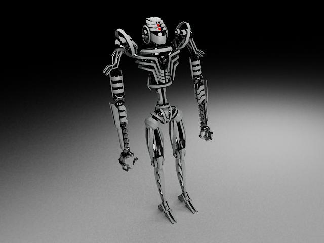 robot tkf100 3d model 116348